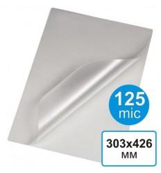 Пленка для ламинирования 303 х 426, А3, 125 мкм (100 шт)