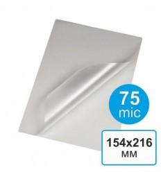 Пленка для ламинирования 154 х 216, А5, 75 мкм (100 шт)