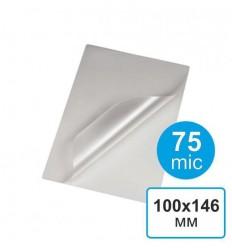 Пленка для ламинирования 100х146, 75 мкм (100 шт)