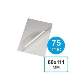 Пленка для ламинирования 80х111, 75 мкм (100 шт)