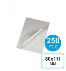 Пленка для ламинирования 80х111, 250мкм (100 шт)