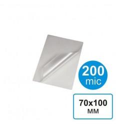Пленка для ламинирования 70х100, 200 мкм (100 шт)