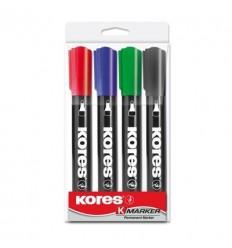 Набор маркеров KORES 1,5-3мм 4шт/уп