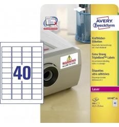 Этикетки Тройная стойкость TripleBond Avery Zweckform, А4, 20 листов, 800 этикеток, L6140-20
