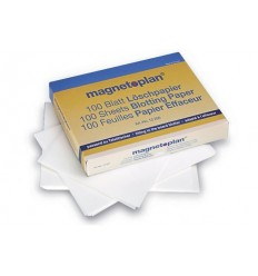 Салфетки сухие для стирателя Magnetoplan, 100 листов.