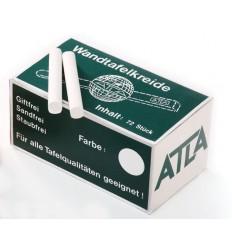 Мел белый Magnetoplan, 72 мелка в картонной коробке