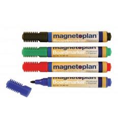 Набор маркеров для досок и бумаги Magnetoplan (Board & Flipchart Marker), 4 цвета