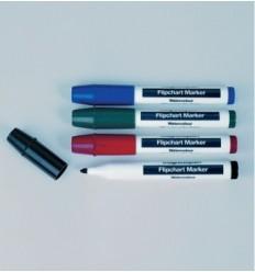Набор маркеров для флипчартов маркеры для бумаги Magnetoplan, тонкий, 4 цвета