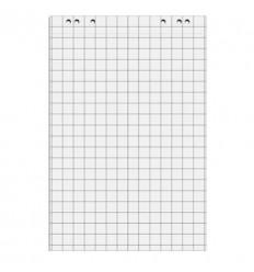 Блокнот для флипчартов белый 67,5х98 80гр, 5 блокнотов по 20 листов