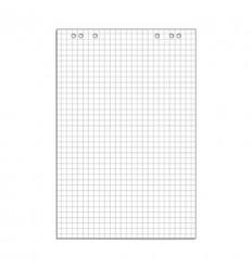 Блокнот для флипчартов клетка 67,5х98 80гр, 50 листов