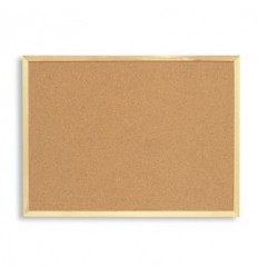 Доска пробковая ATTACHE, 600х900мм, деревянная рамка