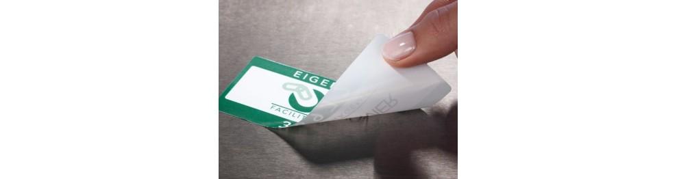 Самоклеящиеся этикетки многоразовые (переклееваемые)