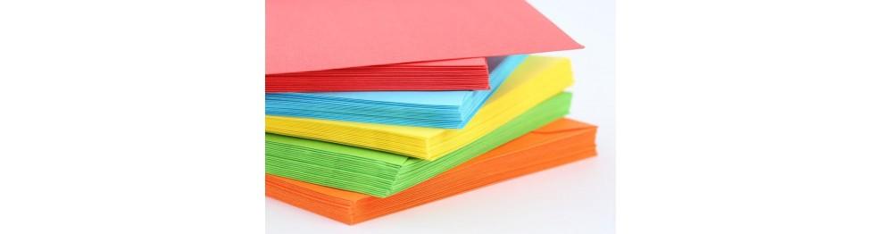Бумага цветная для офисной техники и рисования