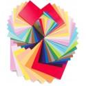 Цветная и крепированная бумага, картон для творчества