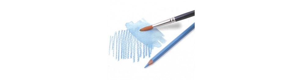Цветные акварельные карандаши и мелки