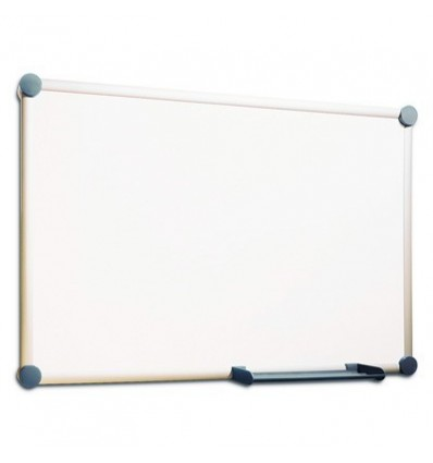 Доска магнитно-маркерная Hebel, 100х150см, лаковое покрытие, алюминиевая рама