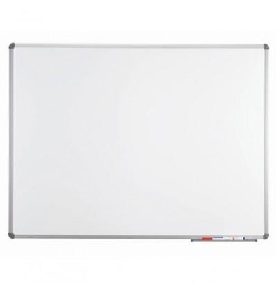Доска магнитно-маркерная Hebel Econom, 45х60см, лаковое покрытие, алюминиевая рама