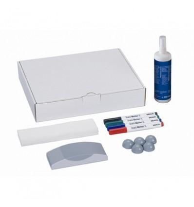 Набор принадлжностей для магнитно-маркерной доски, Hebel (5 предметов)