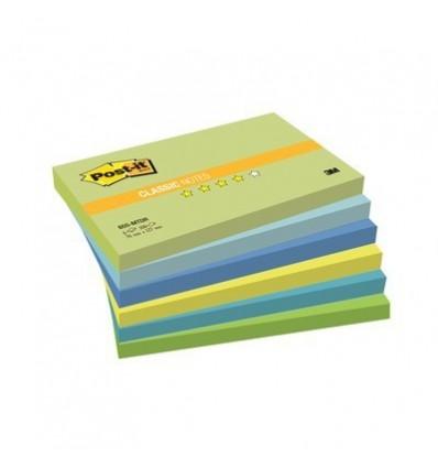 Бумага для заметок Post-it Classic 76х127мм, Вдохновение мечты, 6 блокнотов по 100 листов