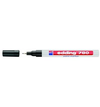 Маркер лаковый EDDING E-780 водостойкий 0,8мм круглый наконечник