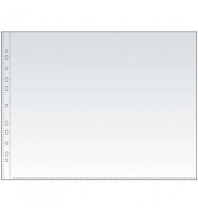 Файл-вкладыш горизонтальный Attache А3 35 мкм, прозрачный гладкий 50 штук