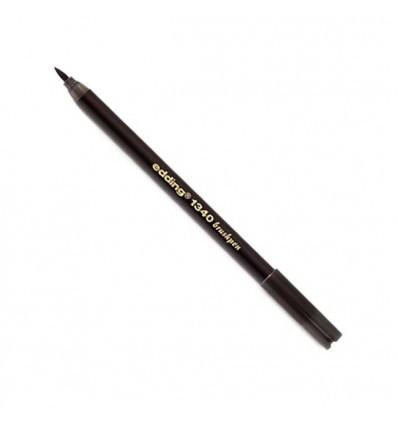 Фломастер с гибким наконечником в виде кисти Edding 1340 brushpen, 0,5-2,5мм