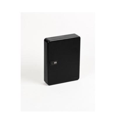 Ключница на 36 ключей Office-Forceс кодовым замком, черный, 300х240х80 мм