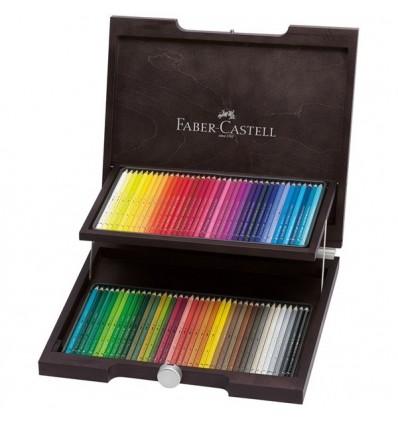 Набор цветных акварельных карандашей FABER-CASTELL Аlbrecht Durer, 120 цветов, в деревянном пенале