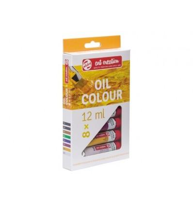 Набор масляных красок Royal Talens ArtCreation 8 цветов в тубах по 12мл