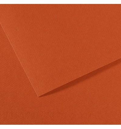 Бумага для пастели CANSON Mi-Teintes А4 21*29.7см 160гр., Цвет №130 Красная глина, 50л/упак,