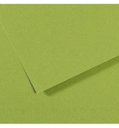 Бумага для пастели CANSON Mi-Teintes А4 21*29.7см 160гр., Цвет №475 Зеленое яблоко, 50л/упак,