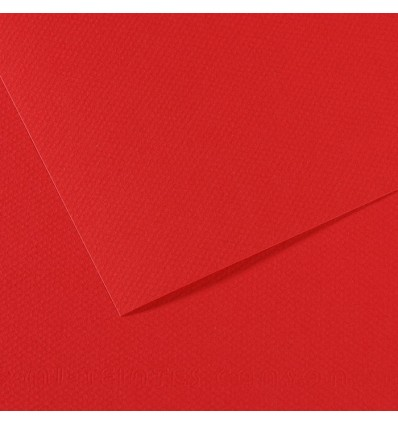 Бумага для пастели CANSON Mi-Teintes А4 21*29.7см 160гр., Цвет №505 ярко-красный, 50л/упак,