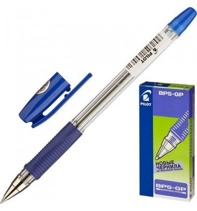 Ручка шариковая масляная Pilot BPS-GP-EF синяя (0.25 мм)