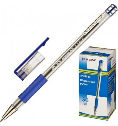 Ручка шариковая Beifa AA 999, 0.5 мм, синяя
