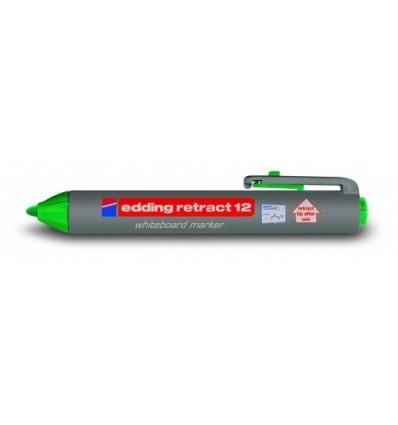Маркер для досок edding retract 12, круглый наконечник, 1,5-3мм
