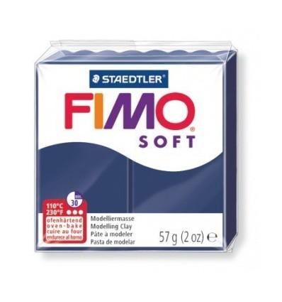 Глина полимерная STAEDTLER FIMO Soft, 57г. - королевский синий