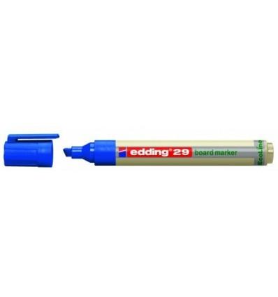 Маркер для эмалевых досок EDDING E-29 EcoLine 1-5мм скошенный наконечник