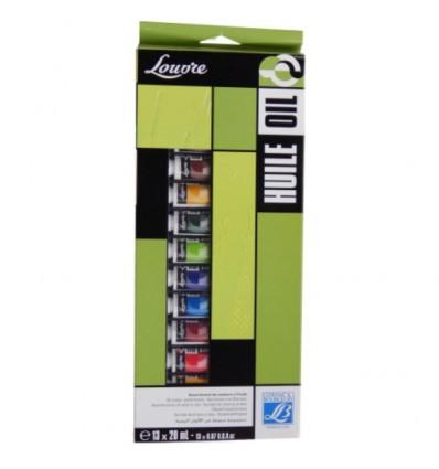 Набор масляных красок Lefranc Bourgeois LOUVRE, 13 туб по 20мл