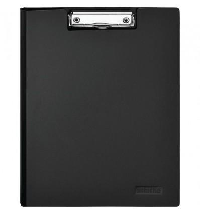 Планшет с крышкой Attache А4 пластиковый, черный