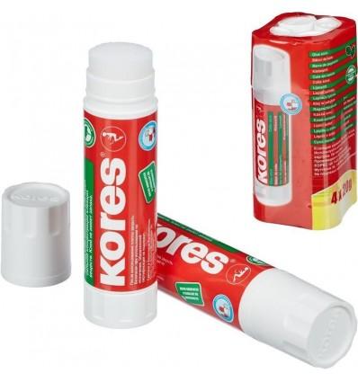 Клей-карандаш Kores 20г (4 штуки в упаковке)