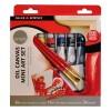 Набор масляных красок DALER ROWNEY Mini art set - 6 цветов по 12 мл, холст 30х30 см, 3 кисти