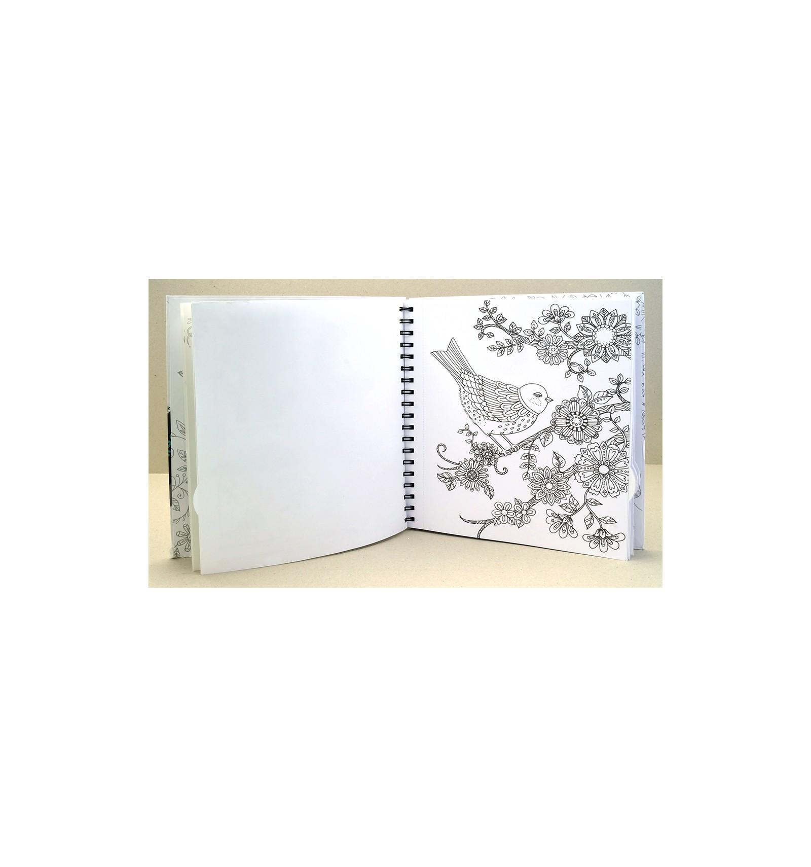 Раскраска - альбом CHAMELEON LORI'S ART GARDEN, 20,32см х ...