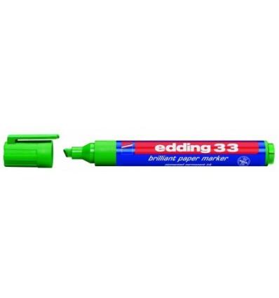 Пигментный маркер на водной основе edding 33, скошенный наконечник, 1-5мм