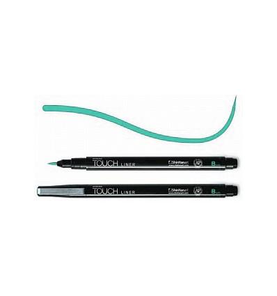 Линер Touch Liner Brush (перо-кисть), Цвет: Кобальт голубой