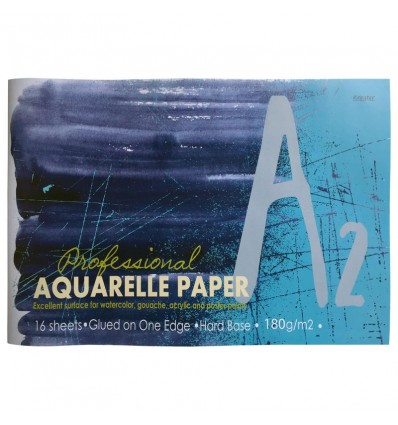 Альбом для акварели Kroyter Акварель 02632, А2, 180гр, 16 листов, склейка