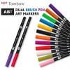 Маркер-кисть Tombow ABT Dual Brush Pen, 2 пера (кисть и тонкое), поштучно