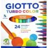 Набор фломастеров GIOTTO TURBO color 2.8мм, 24 цвета