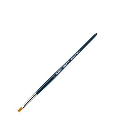 Кисть синтетическая GIOTTO BRUSH ART 600, №4, плоская