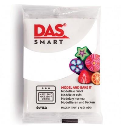 Полимерная глина (паста) для моделирования DAS SMART 321001, 57 гр., Белая