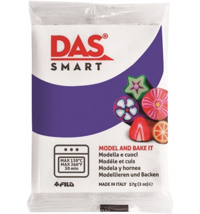 Полимерная паста для моделирования DAS SMART 321014, 57 гр., Фиолетовая